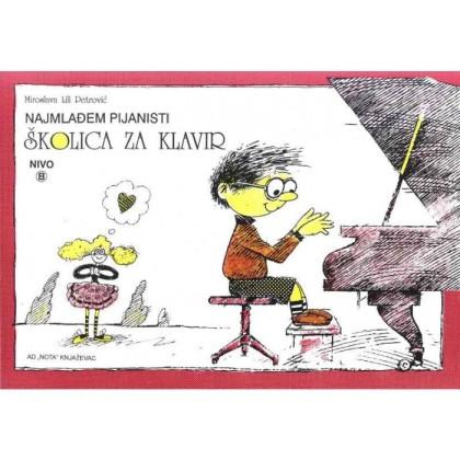 Školica za klavir  nivo B