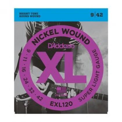 D'Addario EXL120