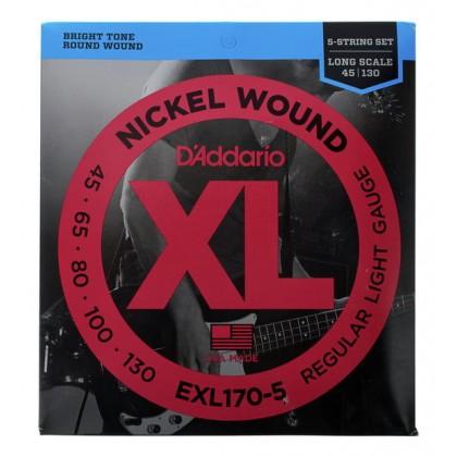 Daddario EXL170-5 Žice za 5-žičanu bas gitaru