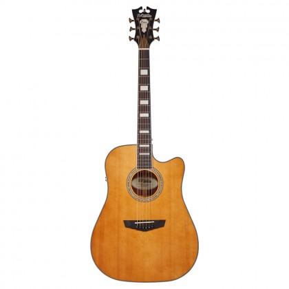 D'Angelico Premier Bowery Vintage Natural Ozvučena akustična gitara