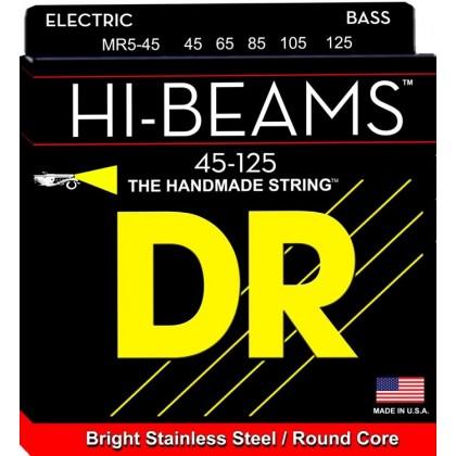 DR MR5-45 žice za petožičanu bas gitaru