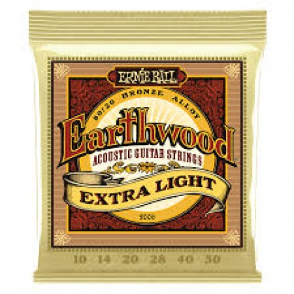Ernie Ball P02006 EARTHWOOD EXTRA LIGHT