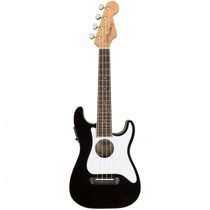 Fender Fullerton Strat Çoncert Ukulele BK