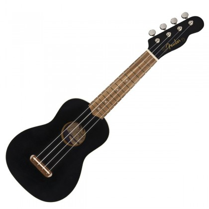 Fender Venice Soprano Ukulele WN BK
