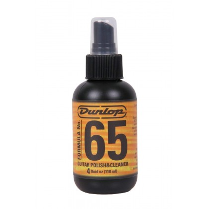 Jim Dunlop 654 FORMULA 65 Guitar Cleaner + Polish