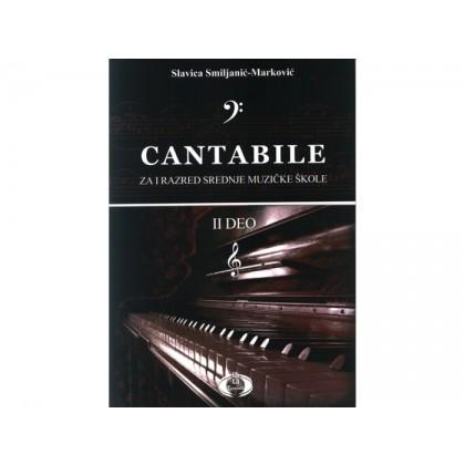Cantabile II deo