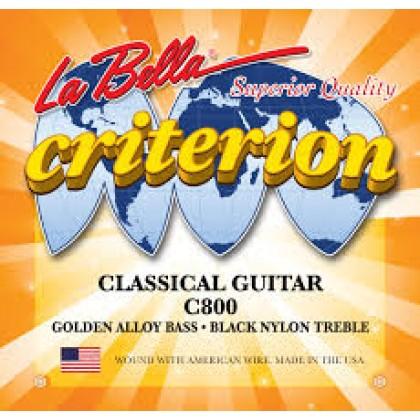 La Bella C800 Criterion Black Nylon