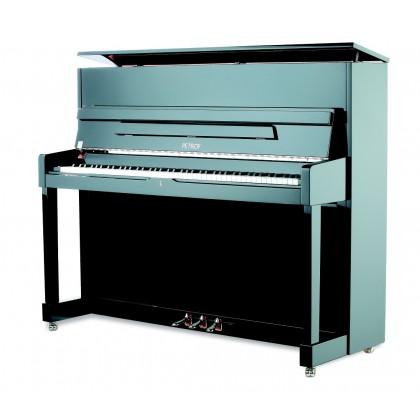 Petrof P 118 M1 pianino Black Polish