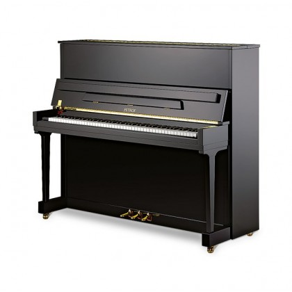 Petrof P 125 K1 polish black pianino