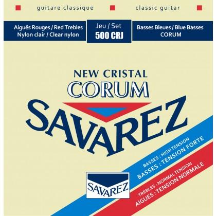 SAVAREZ CORUM NEW CRISTAL NORMAL/HIGH 500CRJ Žice za klasičnu gitaru