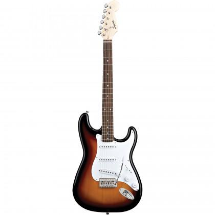 Squier By Fender Bullet Strat w/ Tremolo. Rosewood Fretboard Brown Sunburst električna gitara