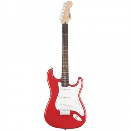 Squier By Fender Bullet Strat With Tremolo SSS. Rosewood Fretboard. Fiesta Red Električna Gitara