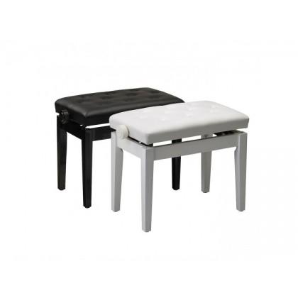 William Wagner PIANO BENCH LIFT TYPE WHITE stolica za klavir
