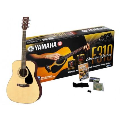 YAMAHA F310P2 Pack Natural Akustična gitara paket