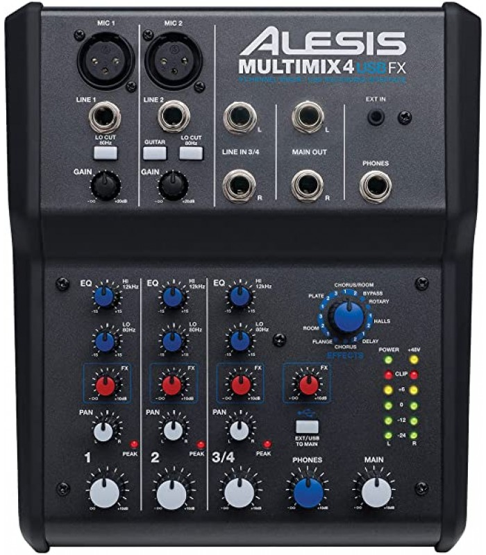 Alesis MultiMix 4 USBFX mikseta
