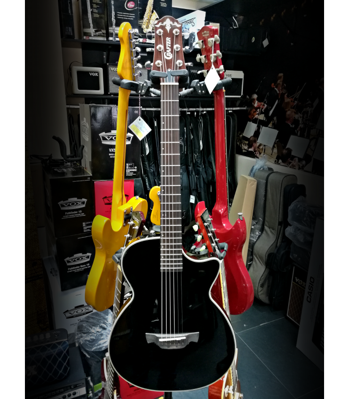 Crafter CT120 BK Elektro-akustična gitara