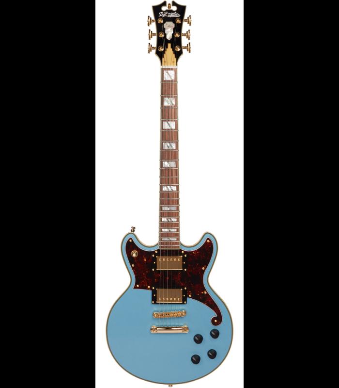 D'Angelico De Luxe Brighton Steel Blue Električna gitara