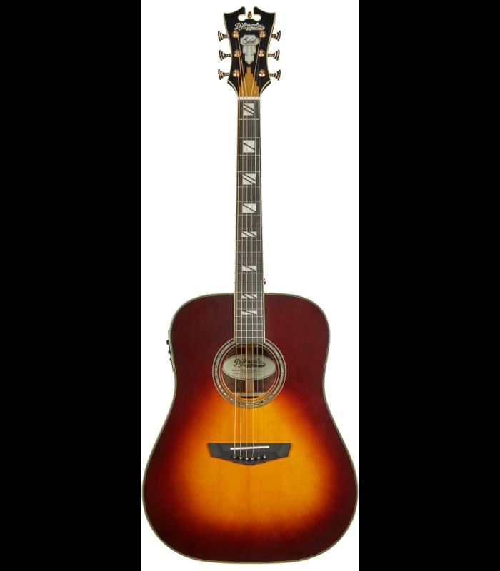 D'Angelico Excel Lexington Vintage Sunburst Ozvučena akusitčna gitara