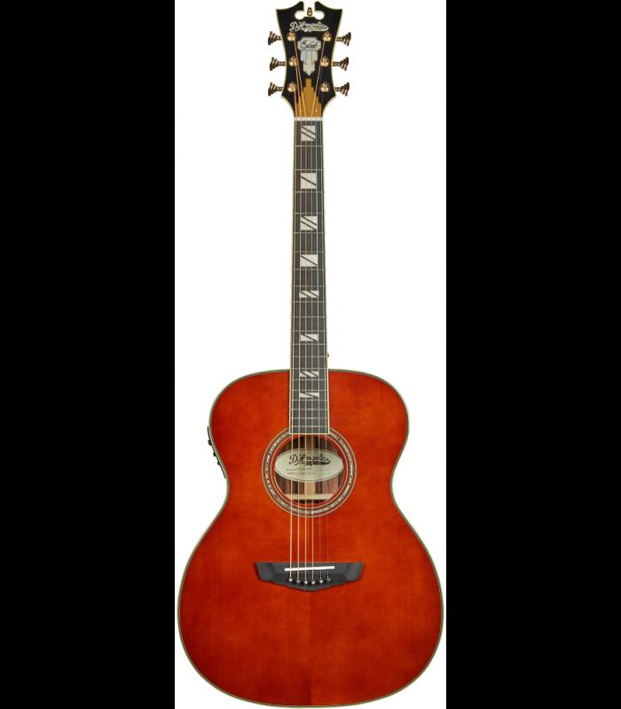 D'Angelico Excel Tammany Auburn Ozvučena Akustična Gitara