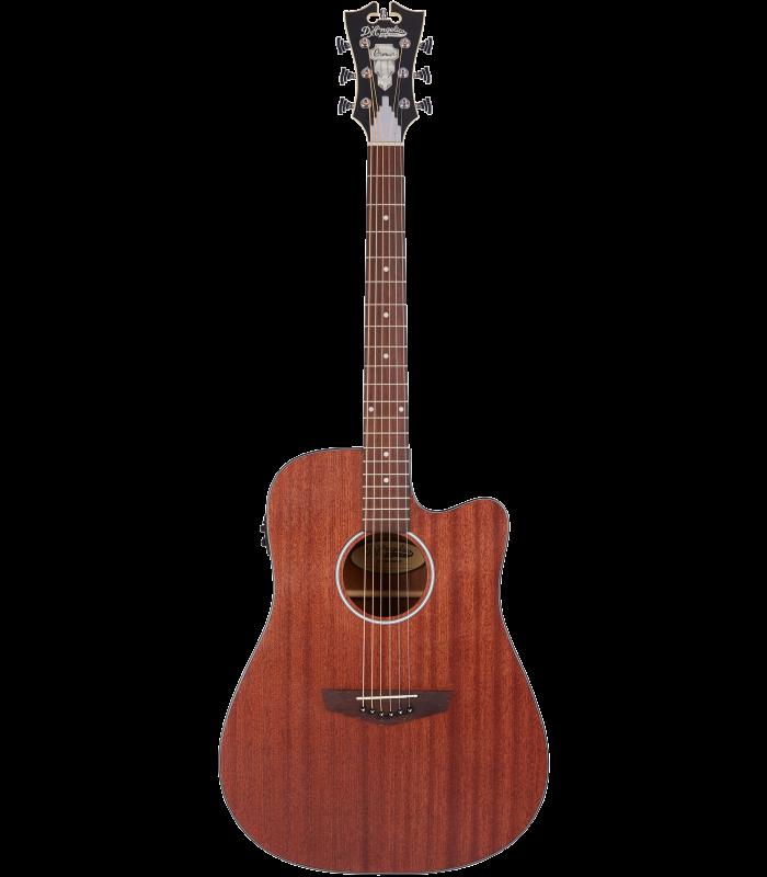 D'Angelico Premier Bowery LS - Mahogany Satin Ozvučen akustična gitara