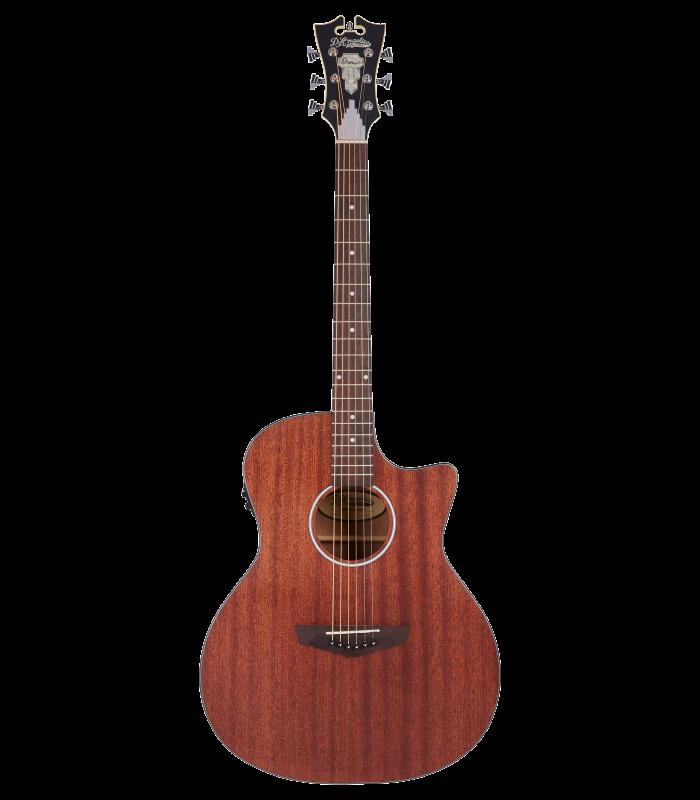 D'Angelico Premier Gramercy LS -Mah Satin Ozvučena Akustična Gitara