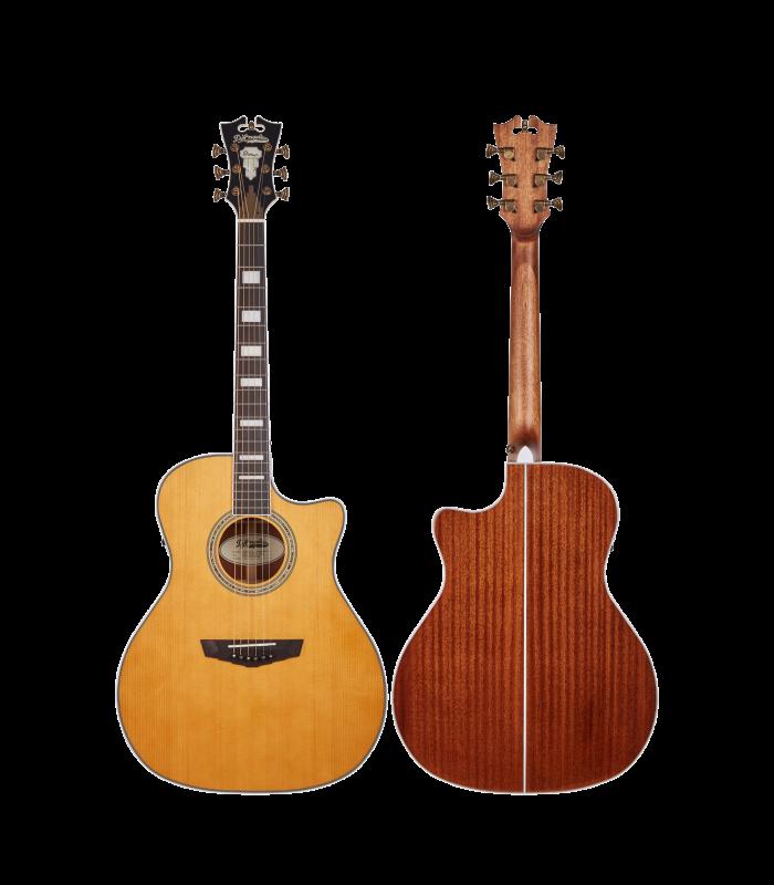 D'Angelico Premier Gramercy VINTAGE NATURAL ozvučena akustična gitara