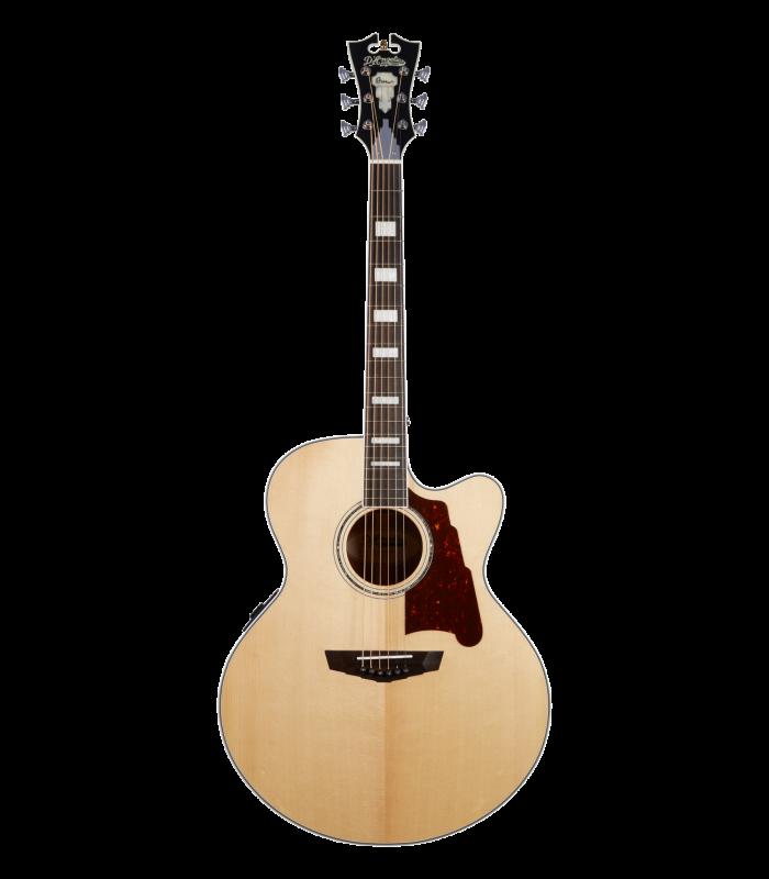 D'Angelico Premier Madison Natural Jumbo Ozvučena akusitčna gitara