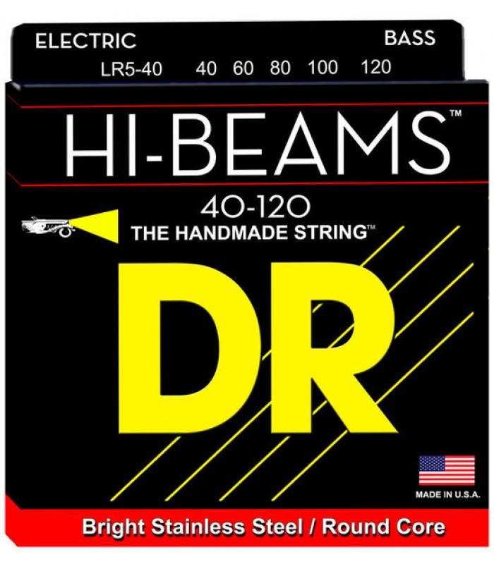 DR LR5-40 žice za petožičanu bas gitaru