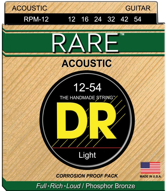 DR Strings Rare RPM 12 Žice za akustičnu gitaru