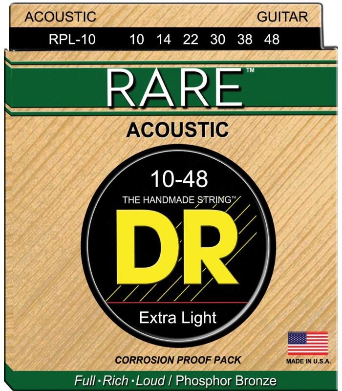 DR Strings Rare RPL 10 Žice za akustičnu gitaru