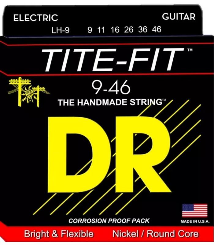 DR Strings Tite-fit LH 9 Žice za električnu gitaru