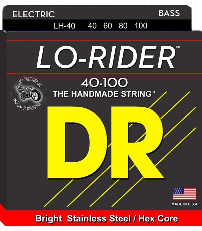 DR Strings Lo-Rider LH 40 Žice za bas gitaru