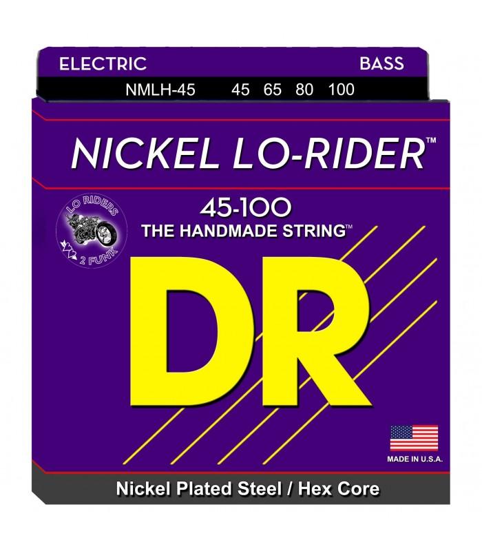 DR Strings Nickel Lo-Rider NMLH 45 Žice za bas gitaru
