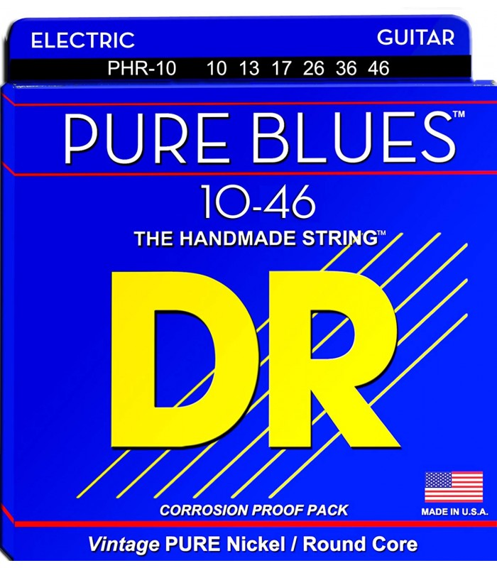 DR Strings Pure Blues PHR 10 Žice za električnu gitaru