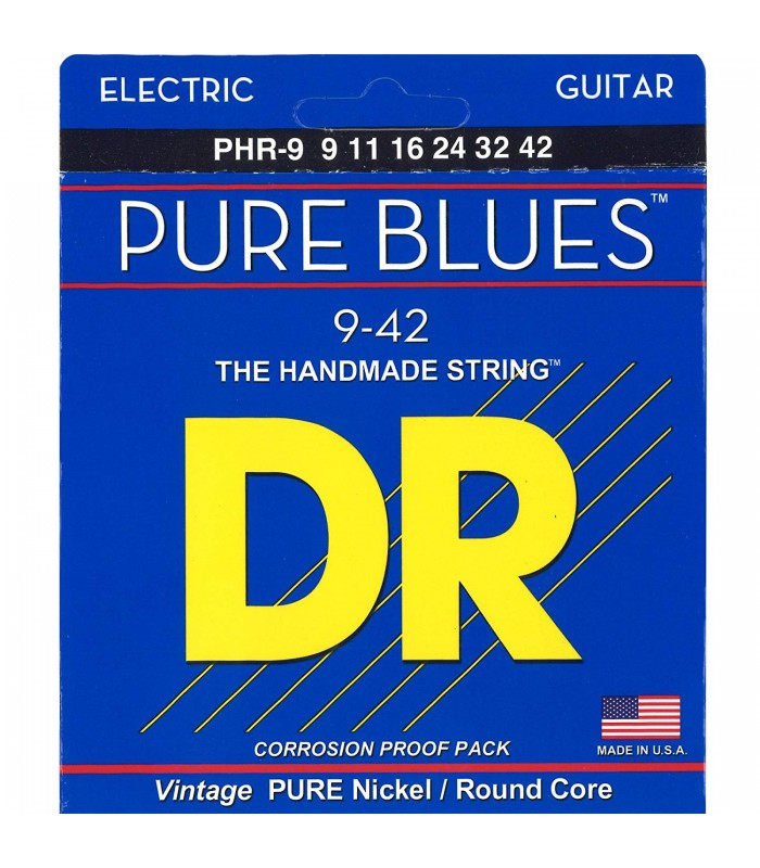 DR Strings Pure Blues PHR 9 Žice za električnu gitaru