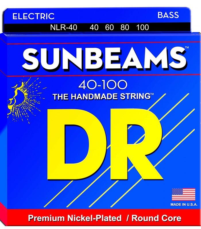 DR Strings Sunbeams NLR 40 Žice za bas gitaru
