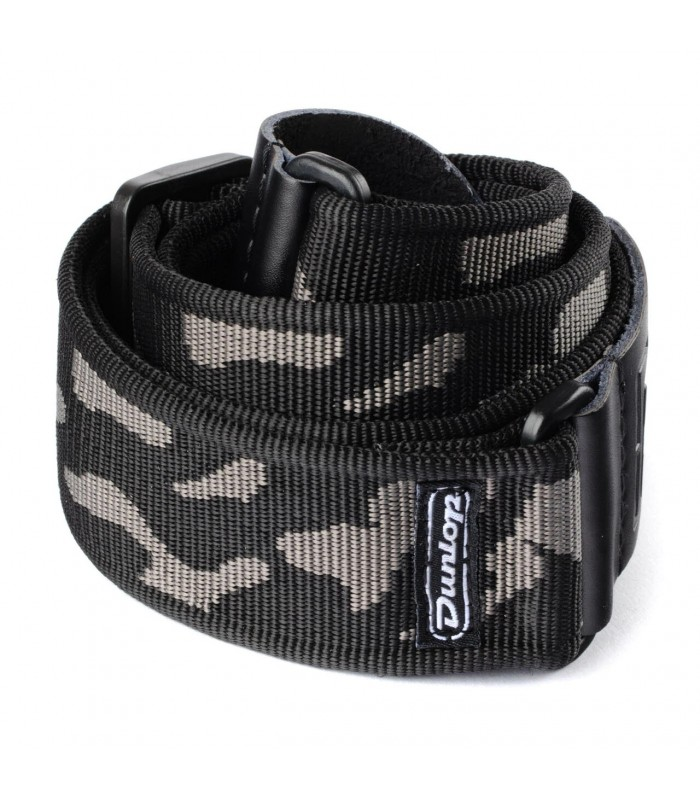 Jim Dunlop CLASSIC CAMMO GRAY STRAP D3810GY