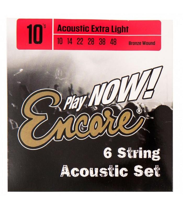 Encore - EWS10 Set žica za akustičnu gitaru