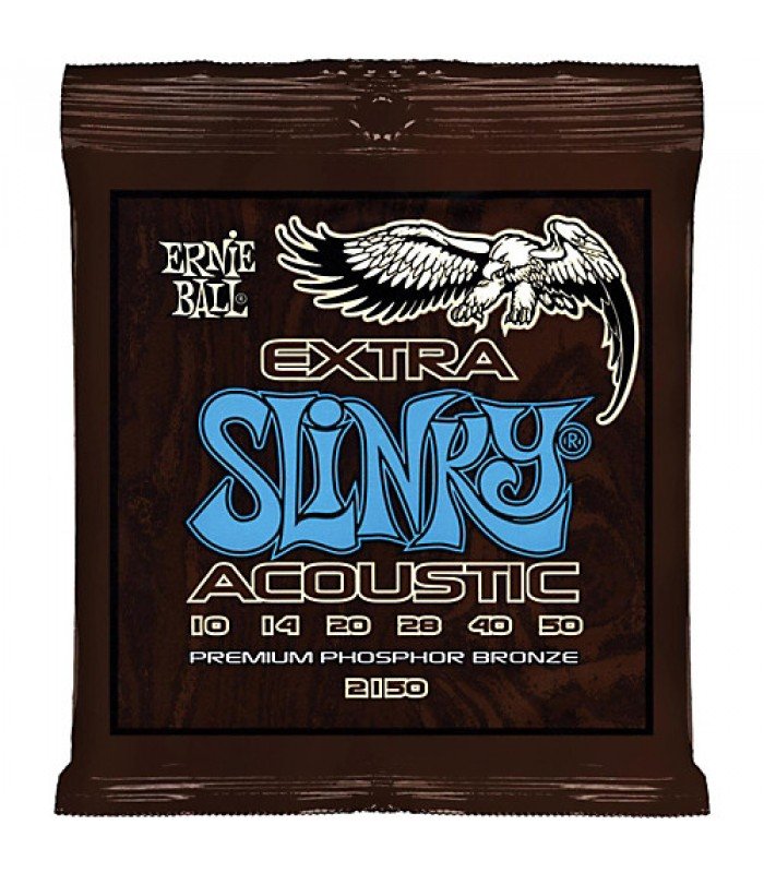 Ernie Ball P02150 ACOUS EXTRA SLINKY