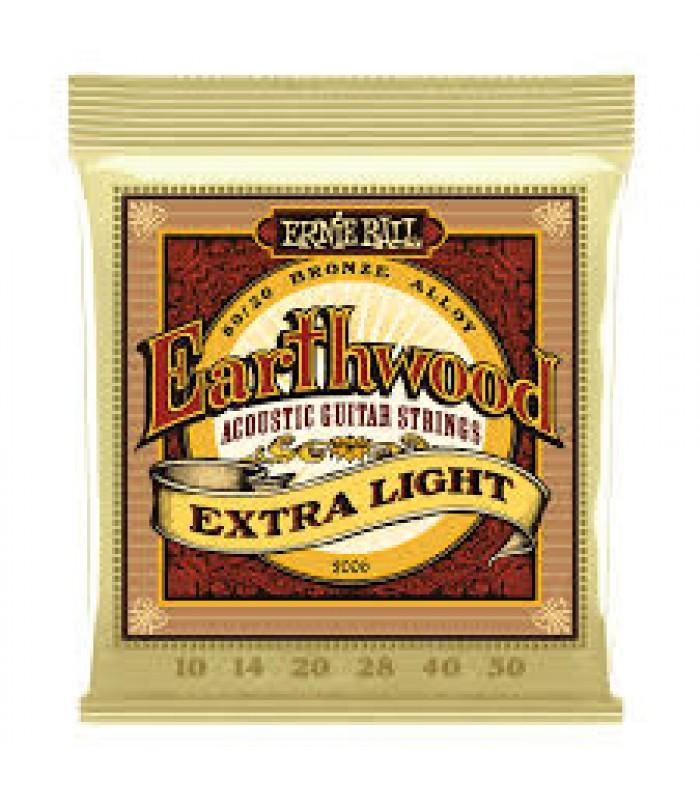 Ernie Ball P02006 EARTHWOOD EXTRA LIGHT