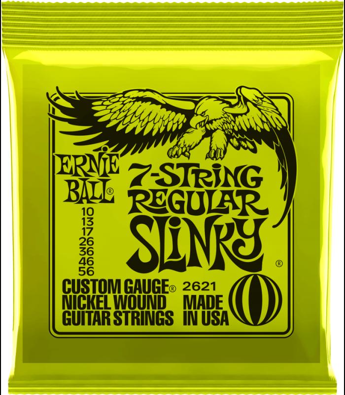 Ernie Ball 2621 Regular Slinky 7-String žice za električnu gitaru
