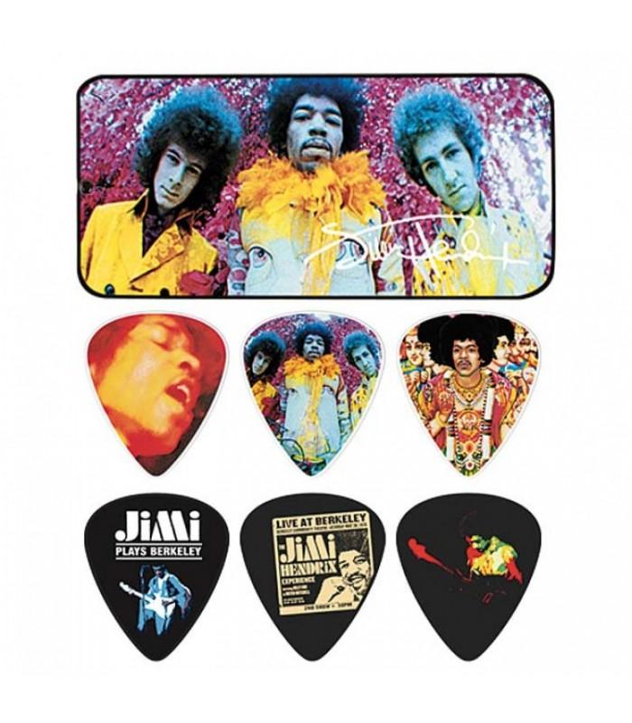 Dunlop Jimi Hendrix Are You Experienced Pick tin JHPT01M