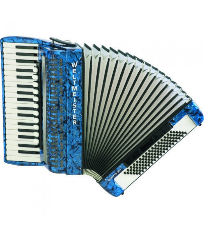 Harmonika Weltmeister Cassotta 374 klavirna 96 basova