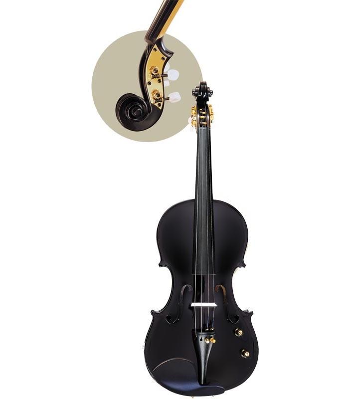 Hora V100E Black električna violina