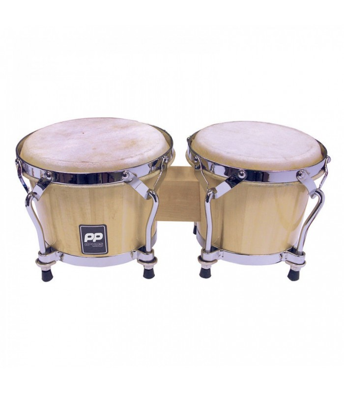 P.P. - WORLD PP5007 BONGOS - NATURAL