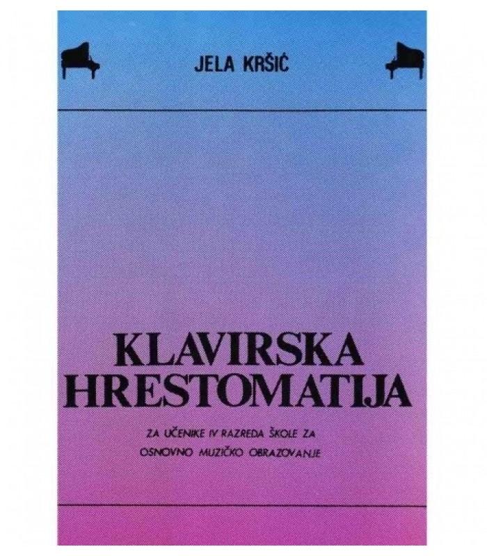Klavirska hrestomatija IV Jela Kršić