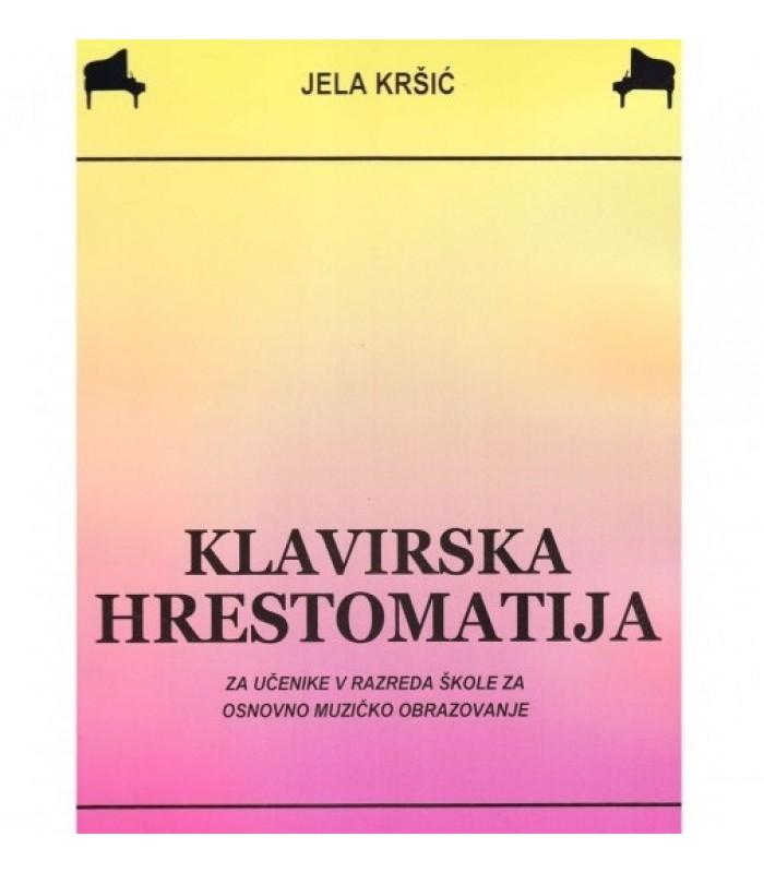 Klavirska hrestomatija V Jela Kršić