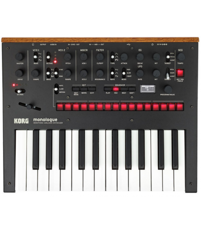 Korg Monologue Black Analogni sintisajzer