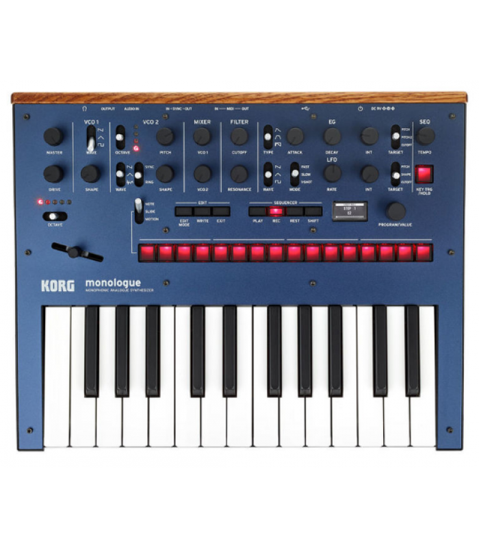 Korg Monologue Blue Analogni sintisajzer