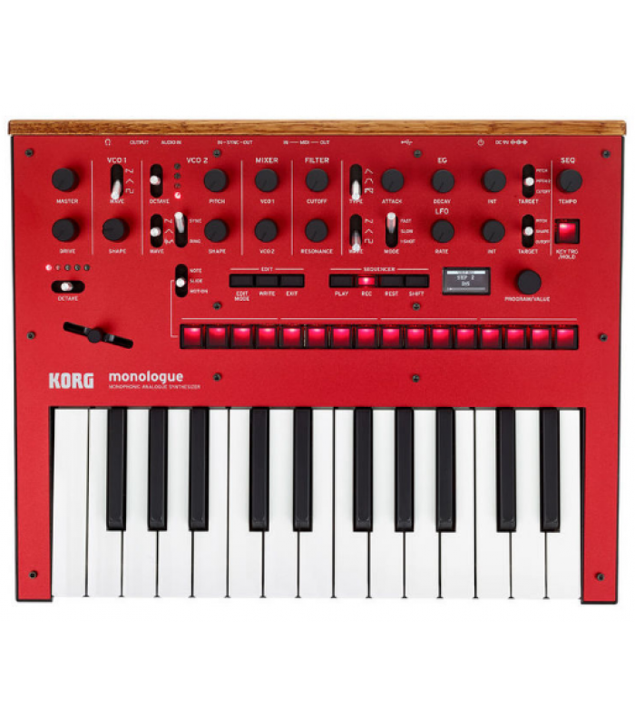Korg Monologue Red Analogni sintisajzer